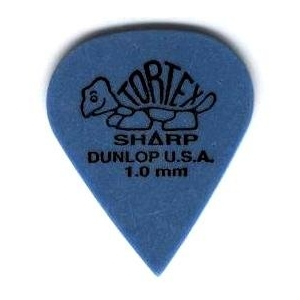 Dunlop 412R 1.00 Tortex Sharp