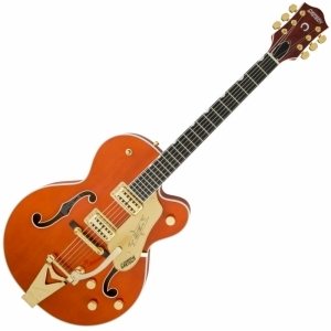 Gretsch G6120 Players Edition Nashville Orange Stain