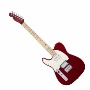 Squier Contemporary Telecaster HH LH MN Dark Metallic Red