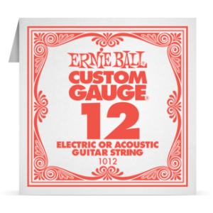 Ernie Ball SINGLE PLAIN STEEL 012 szálhúr