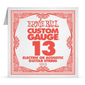 Ernie Ball SINGLE PLAIN STEEL 013 szálhúr
