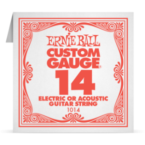 Ernie Ball SINGLE PLAIN STEEL 014 szálhúr