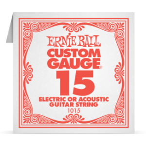 Ernie Ball SINGLE PLAIN STEEL 015 szálhúr
