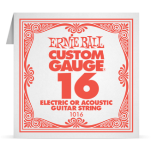 Ernie Ball SINGLE PLAIN STEEL 016 szálhúr