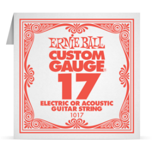 Ernie Ball SINGLE PLAIN STEEL 017 szálhúr