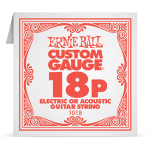 Ernie Ball SINGLE PLAIN STEEL 018 szálhúr