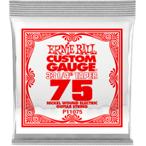 Ernie Ball SINGLE NICKEL WOUND 075 LONG SCALE