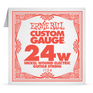 Ernie Ball SINGLE NICKEL WOUND 024 szálhúr