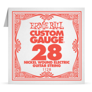 Ernie Ball SINGLE NICKEL WOUND 028 szálhúr