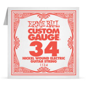 Ernie Ball SINGLE NICKEL WOUND 034 szálhúr