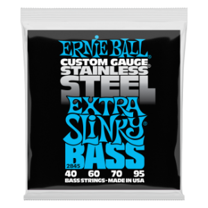Ernie Ball 2845 Stainless Steel Extra Slinky 40-95