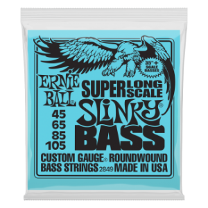 Ernie Ball 2849 Nickel Wound Hybrid Slinky Super Long 45-105
