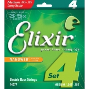 Elixir 14077 Nanoweb 45-105 Medium