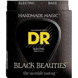 DR Strings EXBK-50 Black Beauties