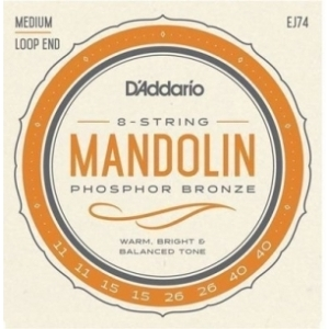 DAddario EJ74 Mandolin Phosphor Bronze, Medium 11-40