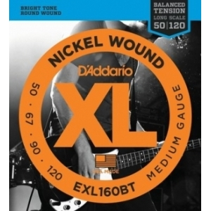 DAddario EXL160 BT Nickel Wound 50-120