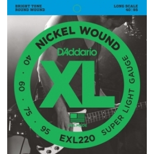 Daddario EXL220 Nickel 40/95