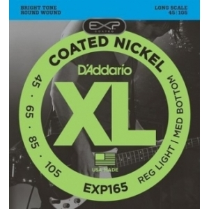 Daddario EXP165 Coated 45/105