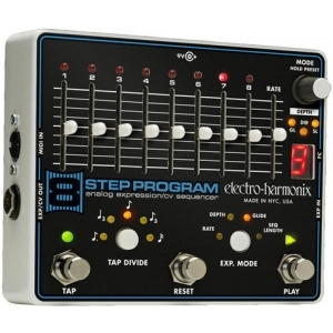 Electro Harmonix 8 step program analog expression sequencer