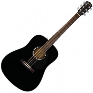 Fender CD-60S Dreadnought Black