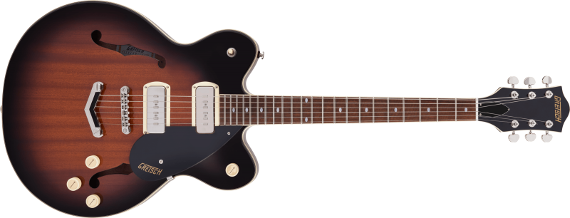 Gretsch G2622-P90 Streamliner Center Block Havana Burst