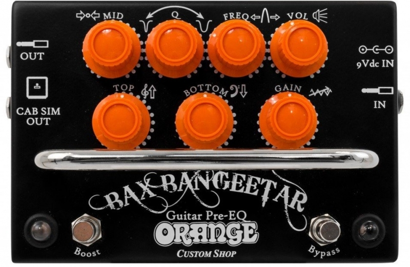 Orange Bax Bangeetar Black