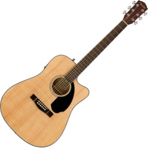 Fender CD-60SCE Dreadnought WN Natural