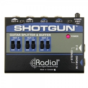Radial Shotgun Stereo 4 Channel Amp Driver