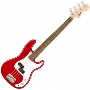 Squier Mini P Bass Dakota Red
