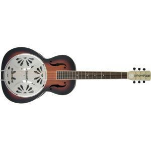 Gretsch G9220 Bobtail Round-Neck Resonator 2-Color Sunburst